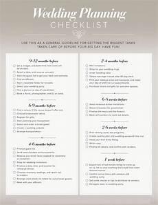 Planning A Wedding Checklist My Wedding Planner Timelines Amp Planning Guides