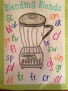 Consonant Blends Anchor Chart Beginning Blends Anchor Chart Kindergarten Anchor
