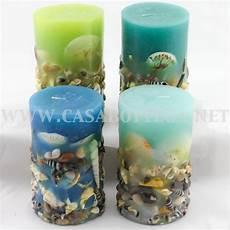 candele con conchiglie candela profumata ad trend