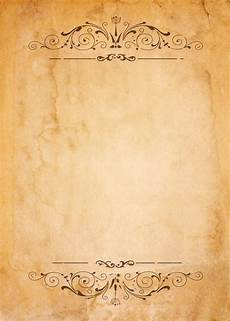 Blank Designs Old Paper With Patterned Vintage Frame Blank For Your