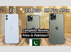 iPhone 11 Series Price in Pakistan with Complete