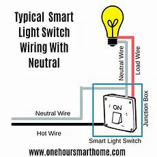 Installing A Smart Light Switch Smart Switch No Neutral Onehoursmarthome Com