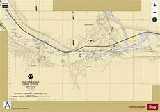 Mohawk River Depth Chart Mohawk River Ilion Herkimer Marine Chart Us14786