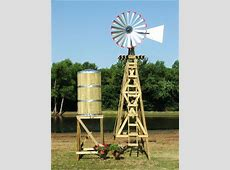 Extra Large Decorative Water Tower/Tank With Stand