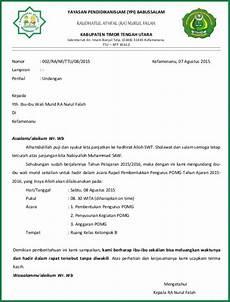 kumpulan contoh surat undangan yang resmi dan tidak resmi