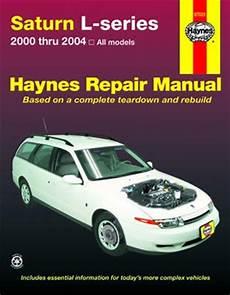 Saturn L Series Haynes Repair Manual 2000 2004 Hay87020
