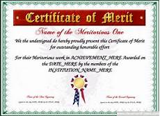 Merit Certificate Sample 17 Best Images About Award Certificate Templates On