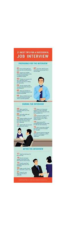 Successful Jobs 21 Tips For A Successful Job Interview Infographic The