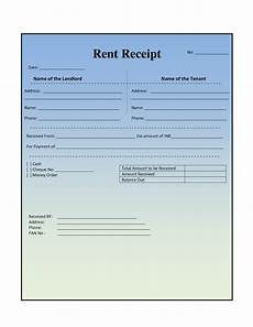 home rent receipt template easy to use house or property rent receipt sles to