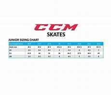 Junior Skates Size Chart Hockey Tutorial Skate Size Chart