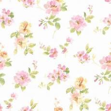 flower wallpaper watercolor chesapeake captiva pink watercolor floral wallpaper