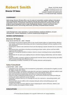 Director Of Sales Resume Director Of Sales Resume Samples Qwikresume