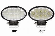6 Oval Led Lights Led Work Light 6 Quot Oval 24w 1 800 Lumens Led Work
