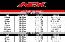 Afx Fx 17 Helmet Size Chart Afx Fx 17 Helmet Green Inferno Motocross Mx Offroad Dirt