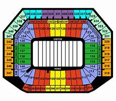 Ford Stadium Seating Chart Ford Field Tickets And Seating Chart Frontrow Com