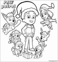best paw patrol everest coloring page free coloring