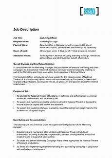 Medical Administration Job Description Medical Office Manager Job Description Template Edit