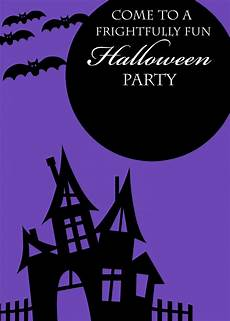 Halloween Invites Free Printable Halloween Invitations Crazy Little Projects