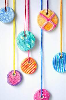 diy texture clay pendants 183 craftwhack