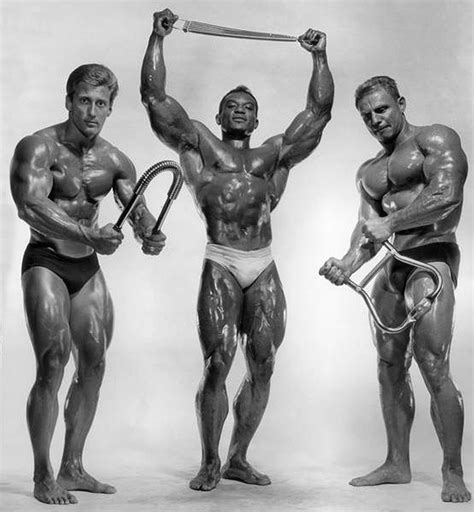 Serge Nubret Vs Arnold Schwarzenegger