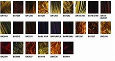 Boss Weave Color Chart Boss Color Charts