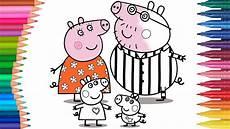 Peppa Pig Ausmalbilder Peppa Pig świnka Peppa Rodzina Małych Rączek