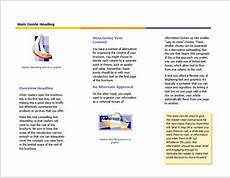 Free Tri Fold Template Word 12 Free Tri Fold Brochure Templates In Ms Word Format