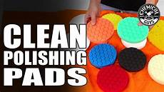 Burnishing Pad Color Chart How To Clean Polishing Pads Universal Pad Washer