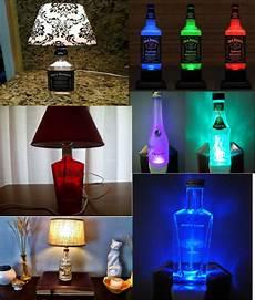 Diy Liquor Bottle Lights How To Make Liquor Bottle Lamps Simple Step By Step