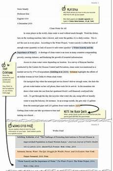 Essay In Mla Mla Essay Format Citation Writefiction581 Web Fc2 Com