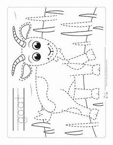 Animal Patterns To Trace Farm Animals Tracing Coloring Pages Itsybitsyfun Com