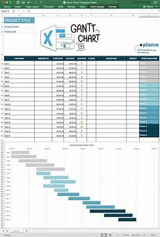 How To Make A Simple Gantt Chart In Excel 2007 How To Create A Gantt Chart In Excel Free Template And