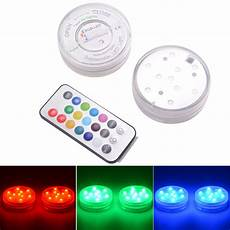 Battery Operated Led Lights With Remote Ir Remote Control Smd5050 Rgb Submersible Led Lights Aaa