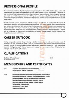 Aged Care Resume Samples Age Care Physiotherapist Design 230 Select Resumes