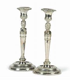 candelieri argento coppia di candelieri in argento carlo x torino 1820