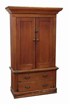 american style wooden cabinet with bottom drawers olde