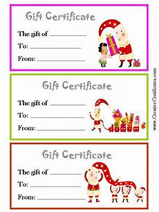 Gift Certificate Ideas For Christmas Christmas Gift Certificates Jpg 720 215 960 Christmas Gift