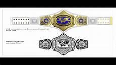 Design A Wwe Belt Online New Wwe Intercontinental Championship Belt Design Youtube
