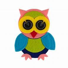felt applique owl felt applique pink discount designer fabric fabric