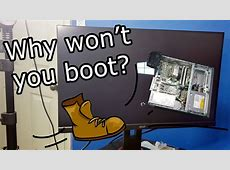 PC won't boot! HP EliteDesk 800 G1 refurbish   YouTube