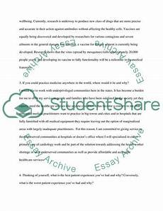 Essay On Medical Assistant The Profession Of A Medical Assistant Essay Example
