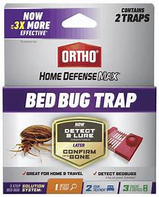 ortho 174 home defense max 174 bed bug trap 2 pack ortho