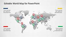 World Map Powerpoint Template Editable Worldmap For Powerpoint Slidemodel