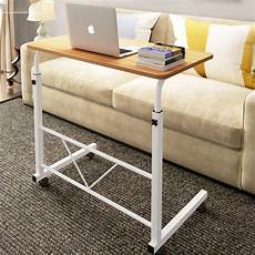 rolling height angle adjustable laptop sofa desk overbed