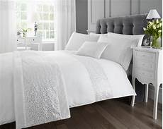 luxury sparkle glitz duvet quilt cover faux silk sequin