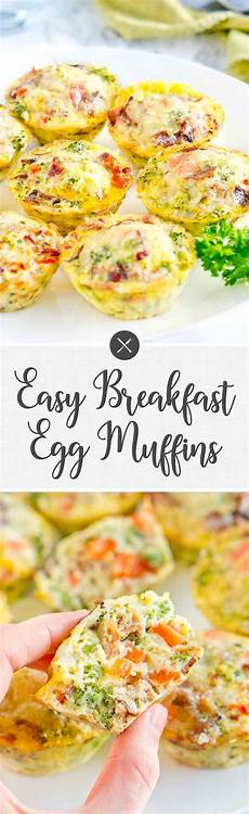 easy breakfast egg muffins delicious meets healthy