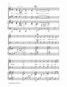 Keepers Of His Light Sheet Music Wonderful Merciful Savior Satb By Dawn R J W Pepper