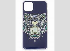 Kenzo Tiger Iphone 11 Pro Max Case In Blue   ModeSens