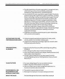 Vice President Of Manufacturing Job Description 12 Sales Job Description Templates Pdf Doc Free