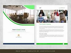 Word Page Design Templates Corporate Report Design Template In Microsoft Word Used